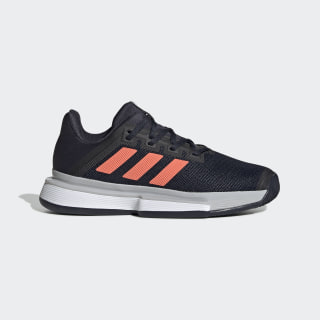 Sapatos SoleMatch Bounce – Terra batida Legend Ink / Signal Coral / Grey Two EG2220