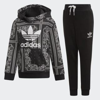 Комплект: брюки и худи Bandana black / white DW3848