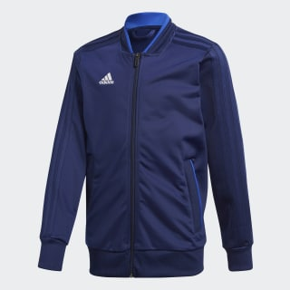 Condivo 18 Track Top Dark Blue / White CF4334