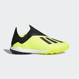 Zapatos de Fútbol X Tango 18+ Césped Artificial Solar Yellow / Core Black / Cloud White DB2269