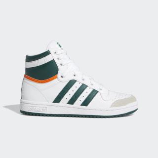 Top Ten Hi Shoes Cloud White / Collegiate Green / Orange EF2831