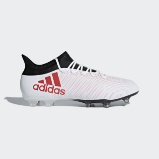 X 17.2 Firm Ground Cleats Grey / Real Coral / Core Black CP9187