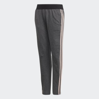 Pantalón ID 3 Rayas DARK GREY HEATHER/HAZE CORAL/WHITE DJ1393