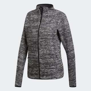 Casaco em Fleece Dark Grey Heather CY2143