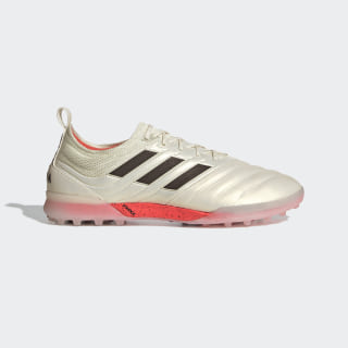 Zapatos de Fútbol Copa 19.1 Césped Artificial Off White / Core Black / Solar Red BC0563