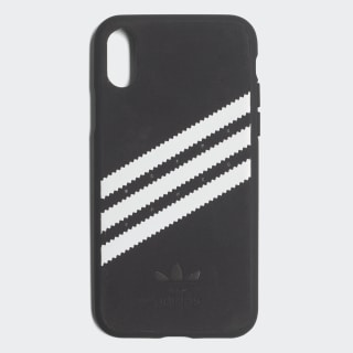 Moulded Case iPhone X Suede Black / White CJ1290