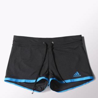 Climachill Shorts Black Melange/Chill Blue S24502