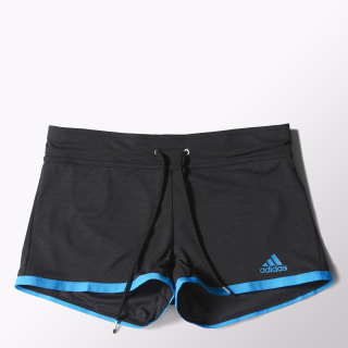 Femmes Climachill Shorts Black Melange/Chill Blue S24502