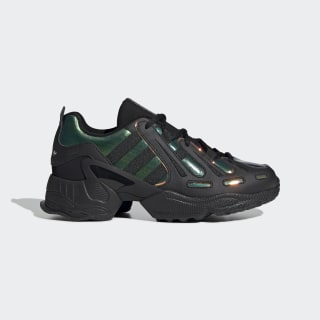 EQT Gazelle Shoes Core Black / Hi-Res Yellow / Energy Ink EE8737