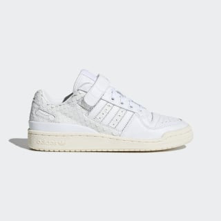 Tênis Forum Low FTWR WHITE/FTWR WHITE/CHALK WHITE CQ2681