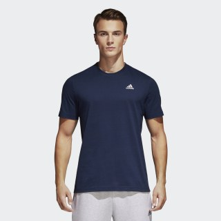 Playera Essentials Base Collegiate Navy / White S98743
