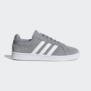 Кроссовки для тенниса Grand Court grey three f17 / ftwr white / grey four f17 F36412