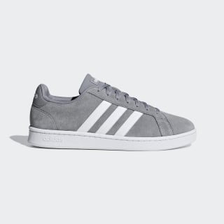 Zapatilla Grand Court Grey Three / Ftwr White / Grey Four F36412