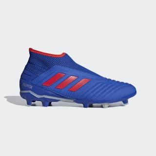 Calzado de Fútbol Predator 19.3 Laceless Terreno Firme Bold Blue / Active Red / Silver Met. F99731
