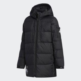 Удлиненный пуховик black / black / white EH4165