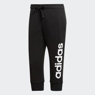 Pantalon 3/4 Essentials 3-Stripes Black / White S97150