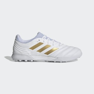 Scarpe da calcio Copa 19.3 Turf Cloud White / Gold Met. / Football Blue F35504