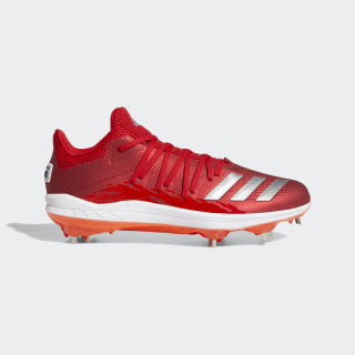 Afterburner 6.0 Speed Trap Cleats Scarlet / Silver Metallic / Active Red DB3435