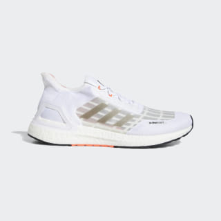 Ultraboost SUMMER.RDY Shoes Cloud White / Core Black / Solar Red EG0773