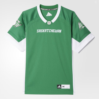 Roughriders Home Jersey Kelly / White BA0630