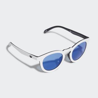Солнцезащитные очки white / black / collegiate royal CK4834