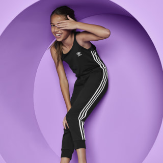 3-Stripes Jumpsuit Black / White DV2844