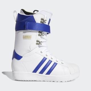 Superstar ADV Boots Cloud White / Active Blue / Gold Metallic D97886