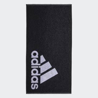 Toalla pequeña adidas Black / White DH2860