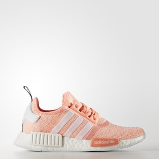 NMD_R1 Shoes Sun Glow/Footwear White/Haze Coral BY3034