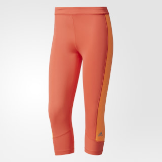 Mallas deportivas Techfit Capris EASY CORAL/GLOW ORANGE BK2622