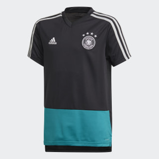 DFB Trainingstrikot Black / Eqt Green / Grey Two CE4938