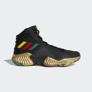 Pro Bounce 18 Shoes Embiid Core Black / Bold Gold / Gold Met. F36942