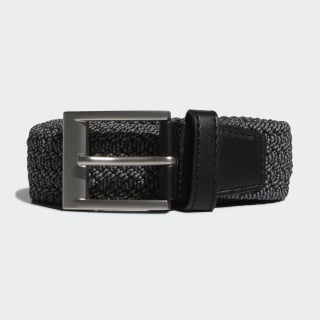 Braided Stretch Belt Black DP7426