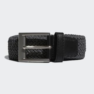 Gevlochten Stretch-Riem Black DP7426