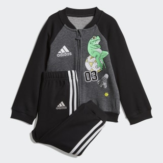 Комплект: джемпер и брюки Baseball dark grey heather / black / white DV1236