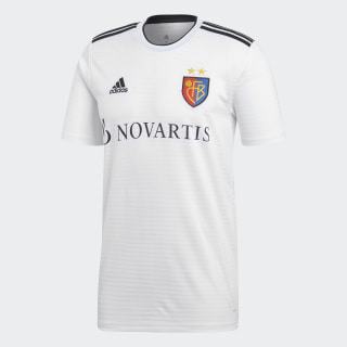 Maillot FC Bâle Extérieur White / Black CG0531