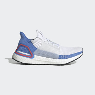 Chaussure Ultraboost 19 Cloud White / Cloud White / Real Blue G27496