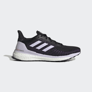 Zapatilla Solarboost ST 19 Core Black / Purple Tint / Solar Red EE4321