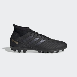 Predator 19.3 Artificial Grass Boots Core Black / Core Black / Gold Met. EF8984