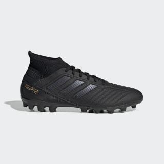 Scarpe da calcio Predator 19.3 Artificial Grass Core Black / Core Black / Gold Met. EF8984