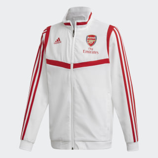 Arsenal Presentation Track Top White / Scarlet EJ6292