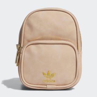 Faux Suede Mini Backpack Light Pink CL5491
