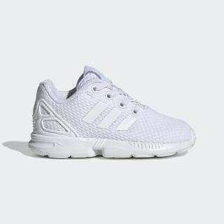 ZX Flux Shoes Cloud White / Cloud White / Cloud White EH3186