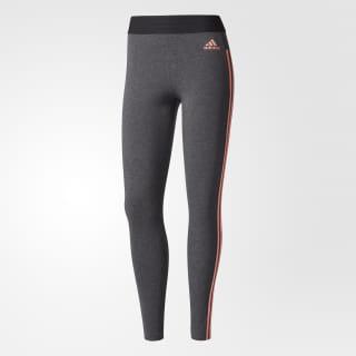 Mallas deportivas Essentials 3-Stripes DARK GREY HEATHER/TACTILE ROSE F17 BR2583