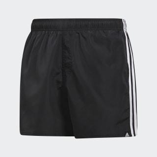 Shorts de Baño 3 Tiras Black / White CV5137