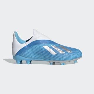 X 19.3 Firm Ground Voetbalschoenen Bright Cyan / Silver Met. / Shock Pink EF9114