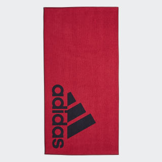 adidas Towel Large Red / Legend Ink DQ1814
