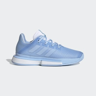 SoleMatch Bounce Shoes Glow Blue / Glow Blue / Cloud White EE9561