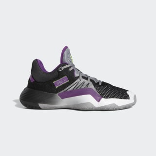 D.O.N. Issue #1 Shoes Grey Three / Core Black / Glory Purple EH2134