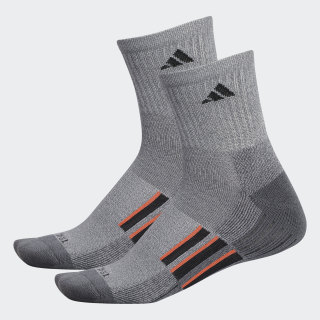 AEROREADY Mid Crew Socks 2 Pairs Medium Grey CL5681